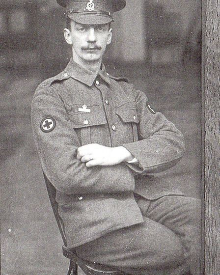 L Laramy from Ilfracombe was a member of the Royal Medical Corps.