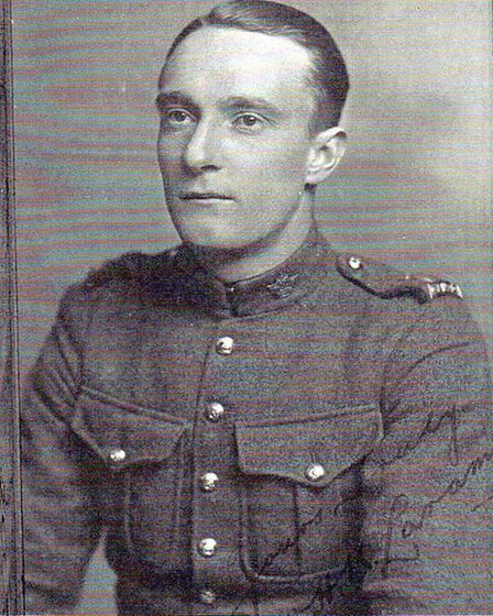 WH Laramy from Ilfracombe served with the Canadians.