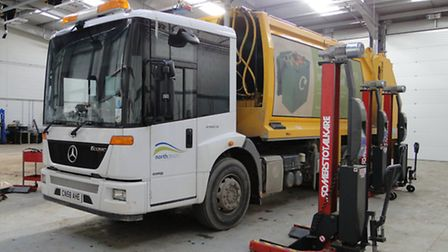 North Devon Council says its waste and recycling fleet of vehicles needs upgrading, as some near the