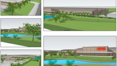 How the AgriBusiness Centre will look upon completion.