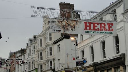 Bideford will be turning on the Christmas cheer today (Sun).