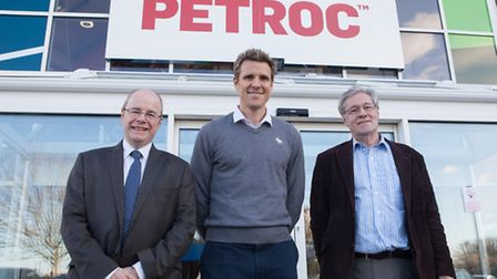 James Cracknell visited Petroc on Friday as part of his preparations for standing for European Parli