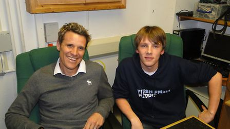 James Cracknell was interviewed by Petroc student Corrie Smith