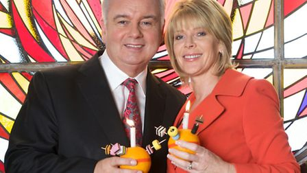 Eamonn Holmes and Ruth Langsford are supporting the national campaign by the Children's Society.