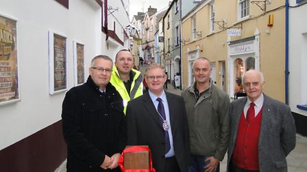 Cooper Street was officially re-opened on Thursday by Mayor Simon Inch.