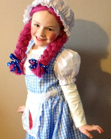 Stacey Hebberd sent in this picture of her daughter Alisya Dorman, aged seven, dressed as a Rag Doll
