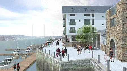 A vision of the future: How Brunswick Wharf could look if the plans are passed by Torridge District