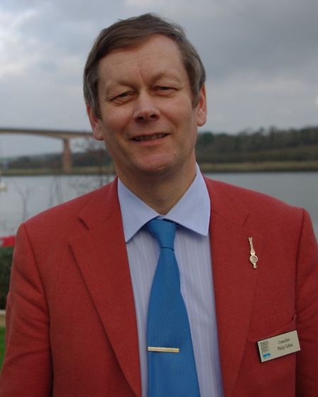 Torridge District Council leader, Cllr Phil Collins: 'The tide is beginning to turn in Bideford'.