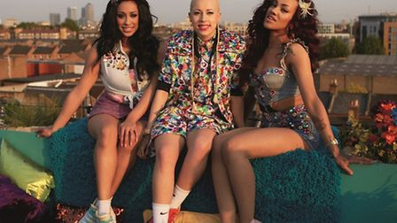 Up-and-coming girl group Stooshe will be turning on the Christmas lights in Barnstaple on Sunday.