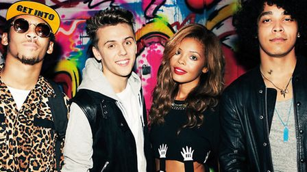 Britain's Got Talent finalists Luminites have been booked to perform alongside Stooshe at Barnstaple