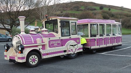 The Dotto land train is pictured at Hillsborough in Ilfracombe.