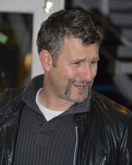 Australian comedian Adam Hills treated audience members to a game of bowling at Let's Go Superbowl a