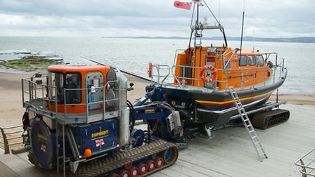 Ilfracombe RNLI is fund raising for a launch and recovery vehicle such as this one. PIcture: RNLI.