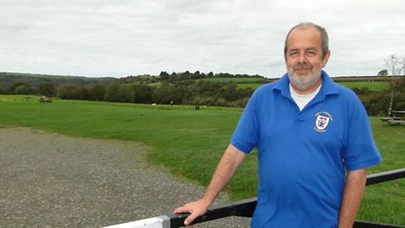 Steve Young, chairman of the Torrington Cavaliers, is currently working on a planning application fo