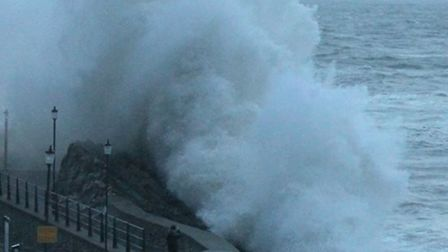 The RNLI has warned people in Ilfracombe and across North Devon not to take chances during the storm