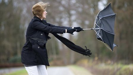 High winds and rain are forecast for tonight and tomorrow morning.