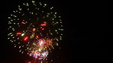 Fireworks see in 2013 in Bideford. Picture by Graham Hobbs