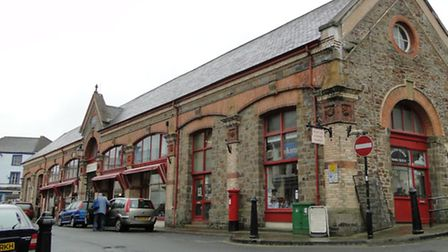 Bideford Pannier Market could house new photovoltaic cells thanks to TAP funding.