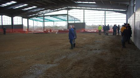 Holsworthy residents took up the opportunity to have a look around the Holsworthy AgriBusiness Centr