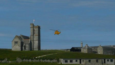 Lundy Island and St Helens Church is now a designated Church of England parish. Pic: Shelley Southon