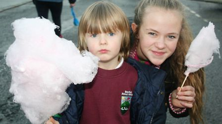 A scene from the South Molton Christmas Fatstock Show - Candyfloss is always a must. Picture: Susi A