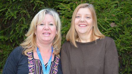Julie Hayd-Higgins and Dawn Henry, both midwives at NDDH, have been nominated for Healthcare Hero Aw