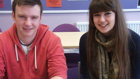 Fixers Parry Hill and Hannah Seymour will be helping clean up North Devon's beaches.