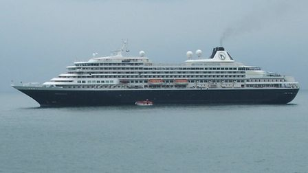 The MS Prinsendam, pictured at Ilfracombe during its visit in 2011, is to return.