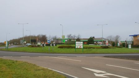 Widening of the Roundswell roundabout on the outskirts of Barnstaple is set to begin on January 20.