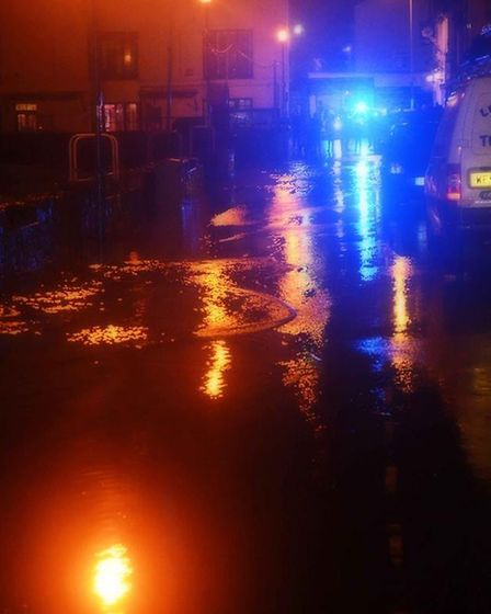 Jedda Stidson posted this photograph from Ilfracombe tonight.