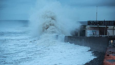 North Devon is bracing for more stormy weather. Pic: Richard Murgatroyd.