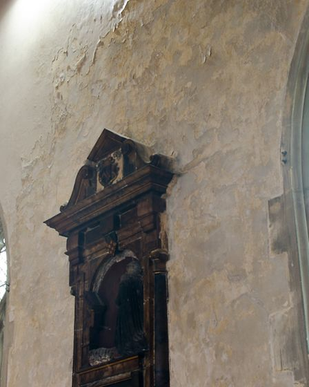 The church is in need of extensive refurbishment. PHOTO: Stuart Mair