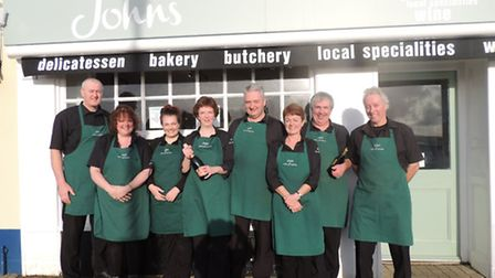 Johns of Instow won 'Local Shop Of The Year' in the Farm Shop & Deli Awards.