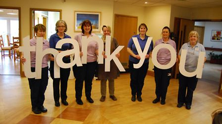 North Devon Hospice beat off stiff competition to receive £3,000 from the Lloyds Bank Community Fund