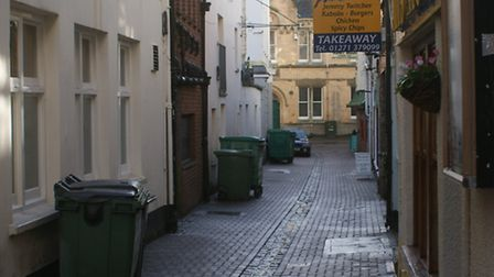 BIN AND GONE?: Wheelie bins on Maiden Street could soon be a thing of the past