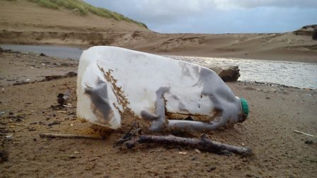 Parry says he is 'sick' of seeing litter on the beach.