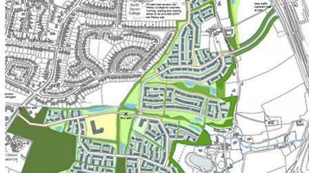 Plans for a 820-home development at Larkbear could be 'called in' by Eric Pickles.