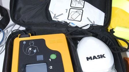 Defibrillators have been purchased for Barnstaple, Ashford and Shirwell.