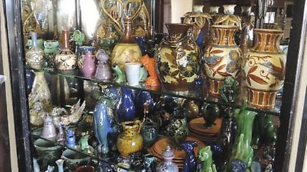 A collection of Brannam Pottery pottery is going up for auction in Gloucestershire next week.