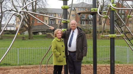 Local ward members Cllrs Manuel and Greenslade have both expressed their delight with the new play e