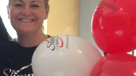 Slimming World consultant Tracy Green.