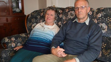 Former Bideford Mayor and Mayoress Trevor and Hilary Johns say they will be devastated if Springfiel
