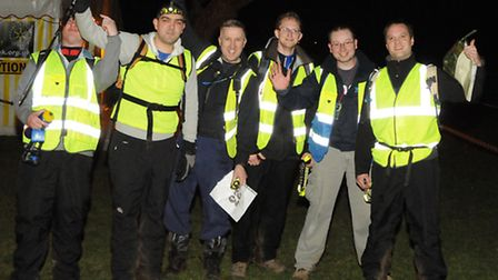 The James Electric team at Star Trek 2014. Picture: Mike Thomas.