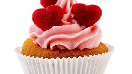 Get your Valentine's-themed cake entries in before judging starts on Friday morning.