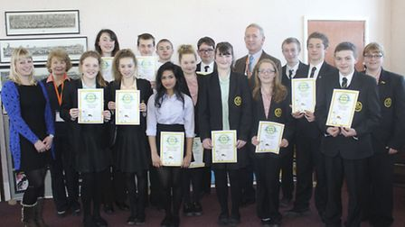 Pupils from the Park Community School succeeded in the Rotary 'Young Chef' competition