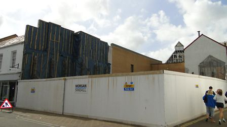 Could the derelict site in Joy Street house a brand new TK Maxx store?