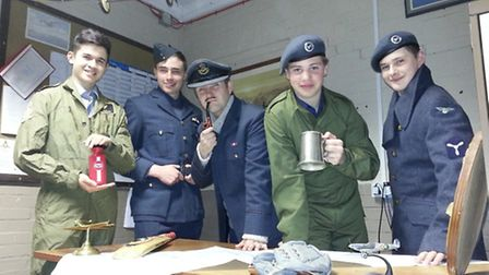 Members of the Barnstaple squadron air training corps are appealing to people to lend them any fligh