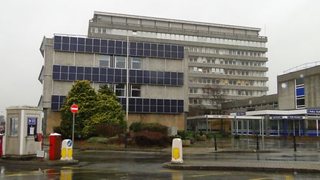 Devon County Council is spending £200,000 replacing fire doors at the civic centre in Barnstaple.