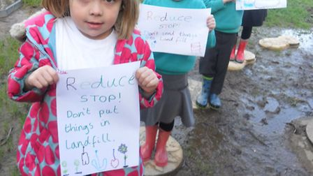 Pupils from the Eco Team at Southmead School in Braunton are hoping local people can help donate the