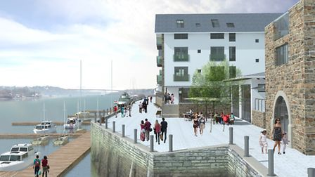 How the Brunswick Wharf development could look.